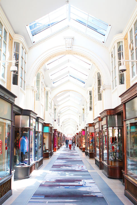 Burlington Arcade, London. Tips for Planning a London Vacation. www.kevinandamanda.com. #travel #london #england