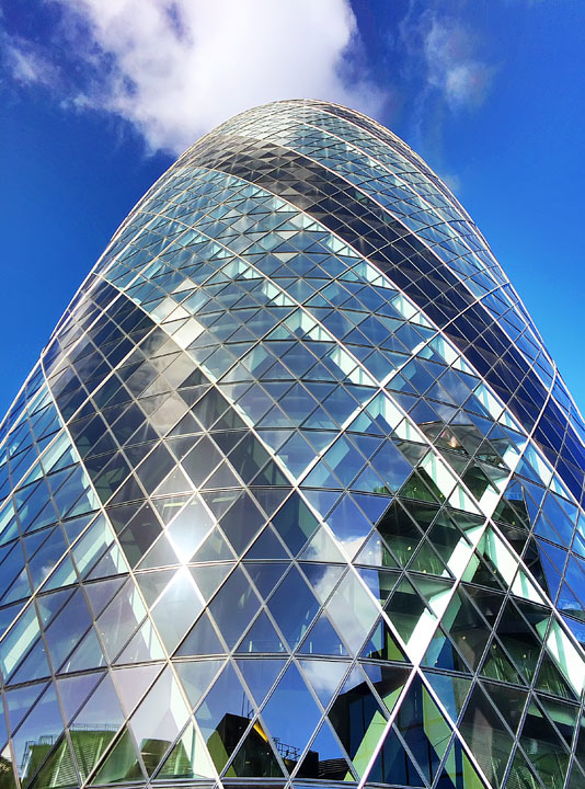 The Gherkin Building, London. Tips for Planning a London Vacation. www.kevinandamanda.com. #travel #london #england