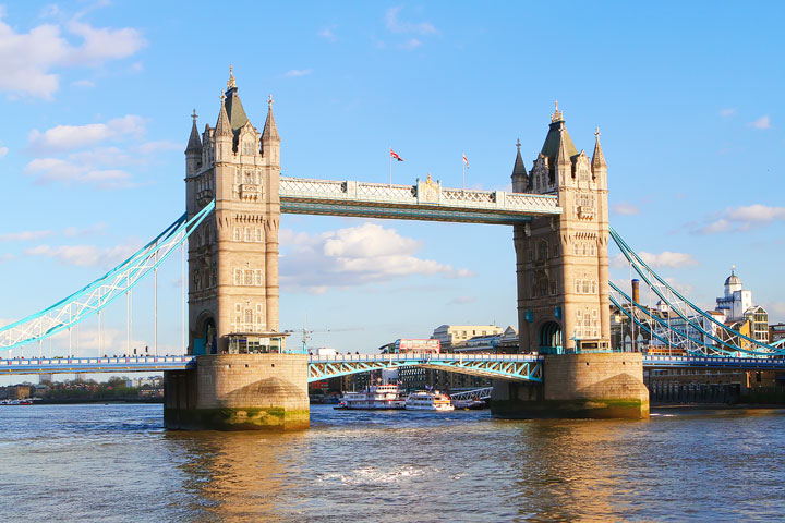 London Tower Bridge. Tips for Planning a London Vacation. www.kevinandamanda.com. #travel #london #england