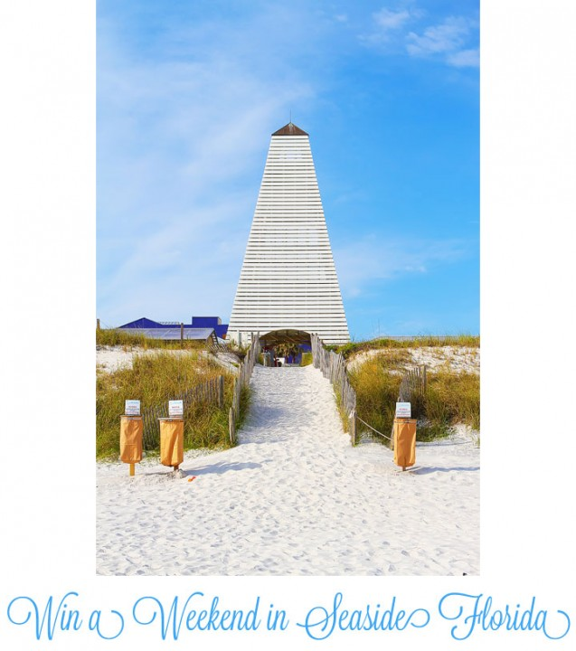 Win a Weekend in Seaside, Florida! #beach #travel #giveaway