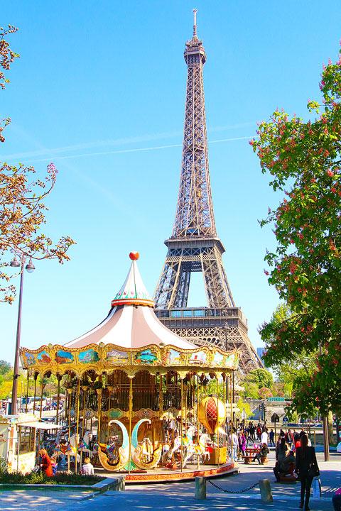 Eiffel Tower, Paris, France. www.kevinandamanda.com #travel #paris #france #photography
