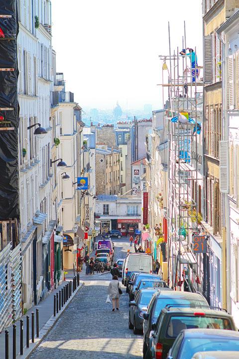 Montmartre, Paris, France.