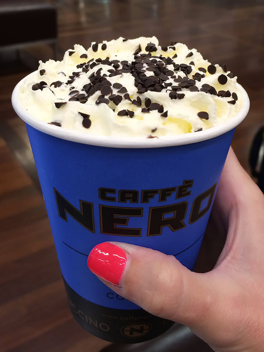 Caffe Nero - Best Restaurants in London - A list of the BEST London restaurants and the best pubs in London!