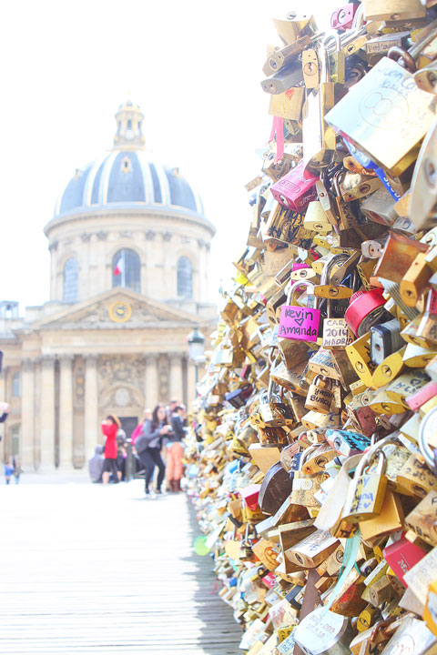Pont des Arts Love Lock Bridge — BEST Things To Do In Paris