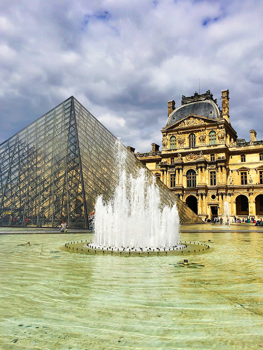 The Louvre Museum Pyramid — BEST Things To Do In Paris