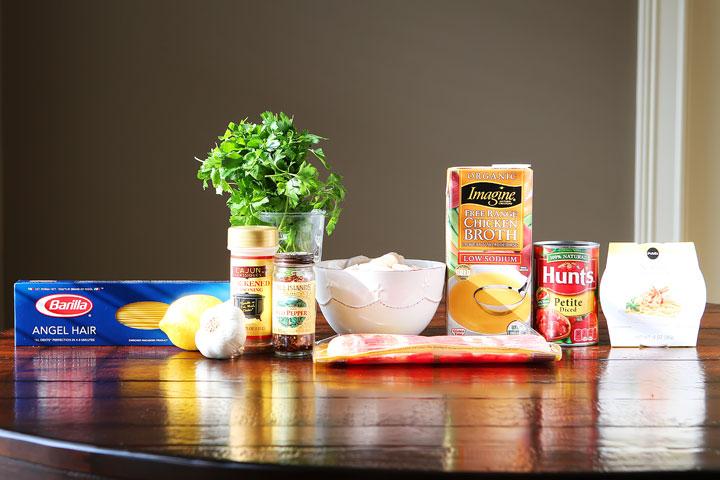 Shrimp Scampi Pasta Ingredients