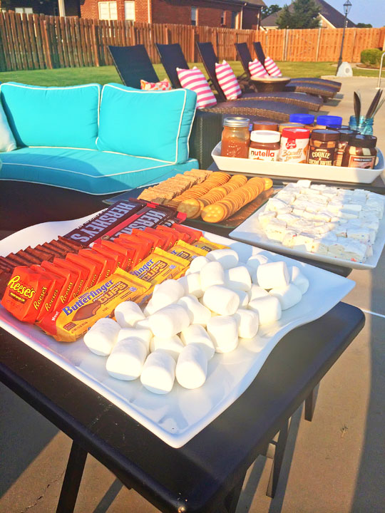 Gourmet S'mores Party!!