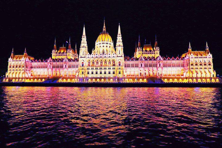Hungarian Parliament Building - Budapest Hungary