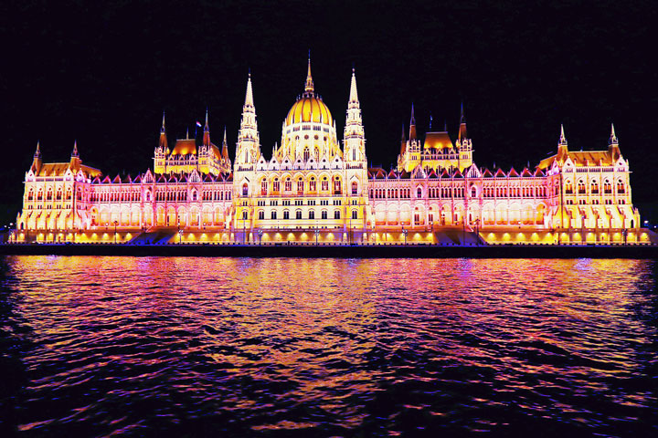 Hungarian Parliament Building - Budapest Hungary