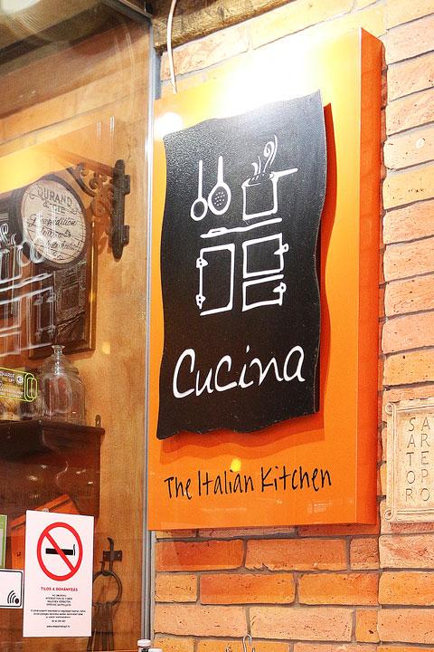 Amanda Green Bottoms' handwriting on a restaurant logo in Budapest, Hungary.