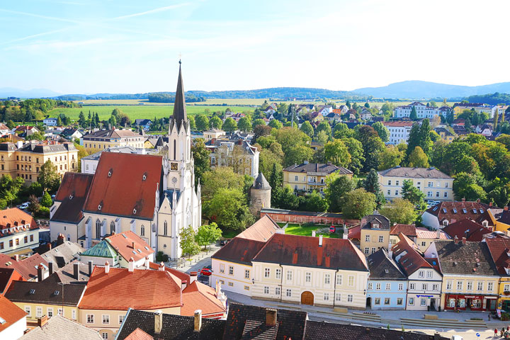 View from Melk Abbey