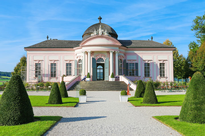 Baroque Garden Pavilion at Melk Abbey