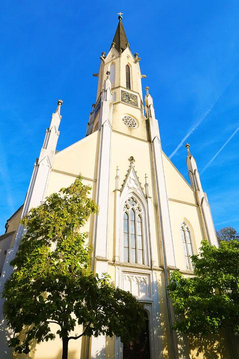 Catholic church in Melk Austria
