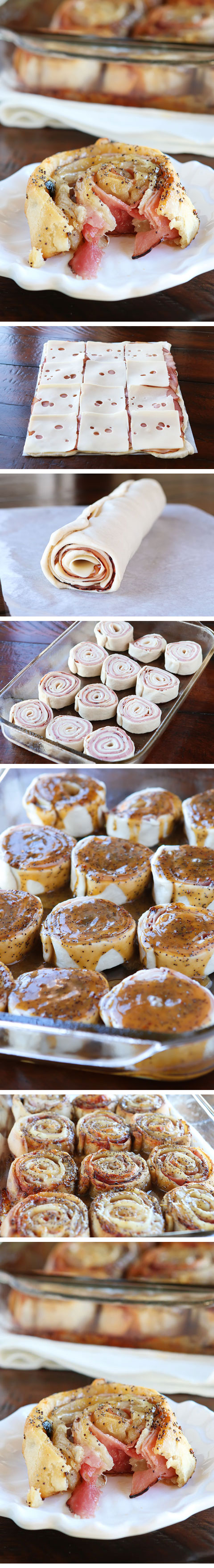Hot Ham And Cheese Pinwheels — The Best Hot Ham Roll Ups Recipe!!