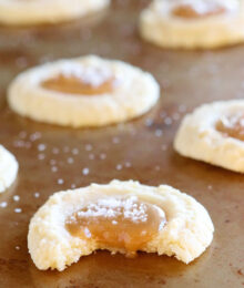 Image of Gooey Salted Caramel Vanilla Butter Cookies