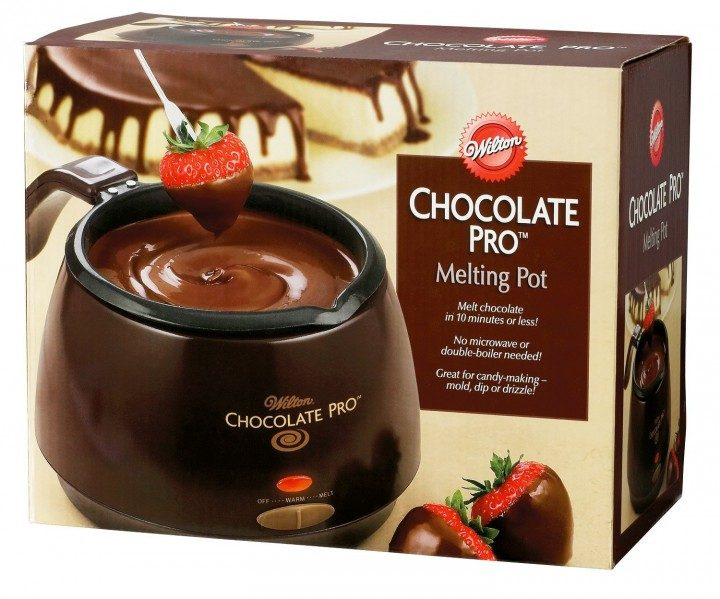 Even if you only use it one time a year, this is a MUST for dipping chocolate!!