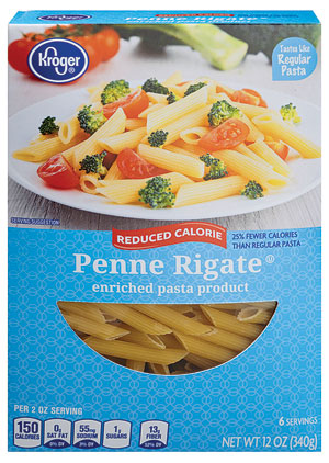 Kroger-Reduced-Calorie-Penne