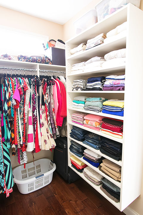 Dream Walk-in Closet Makeover