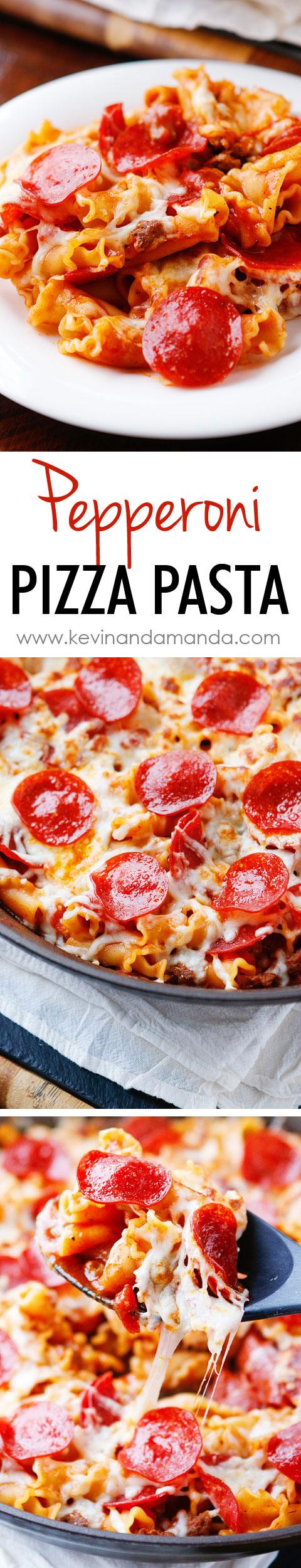Pizza Pasta Bake Recipe