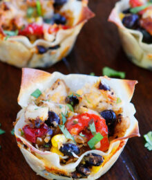 Image of Southwestern Chicken Cups