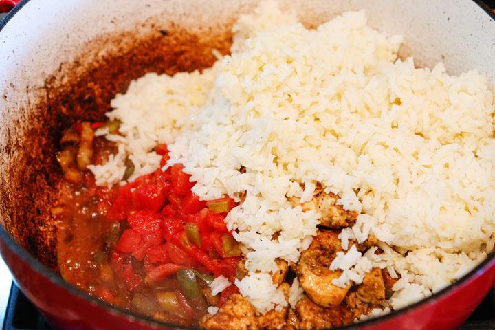 Easy Cajun Chicken and Rice Recipe