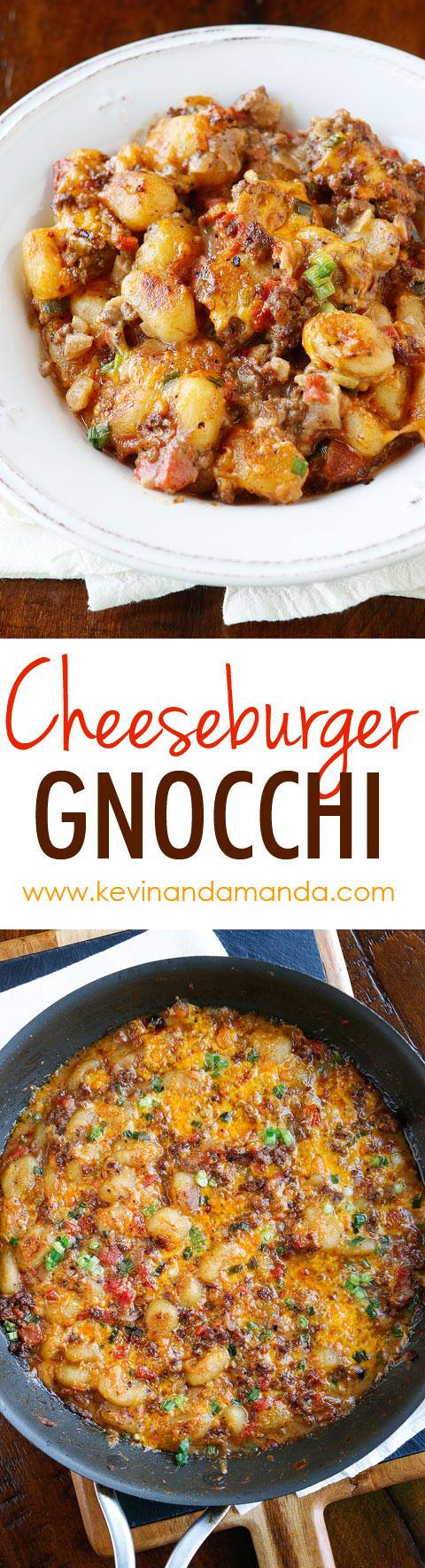 Cheeseburger Gnocchi recipe