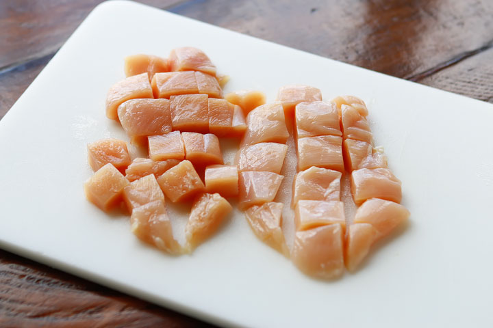 Boneless skinless chicken breasts for Chicken Fajita Pasta - The Best Chicken Pasta Recipes!
