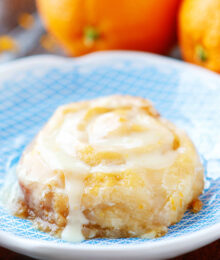 Image of a Crock Pot Orange Sweet Roll