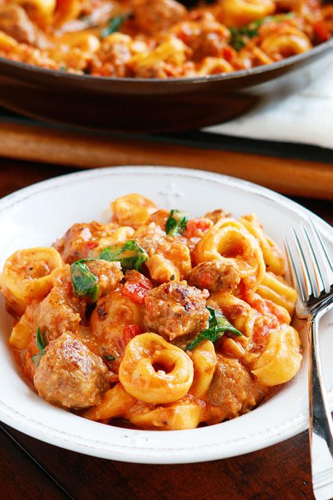 Best Tortellini Recipes: Italian Sausage Tortellini