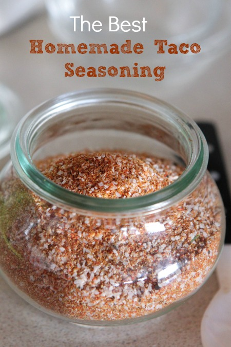 Homemade Taco Seasoning for Chicken Fajita Pasta Recipe