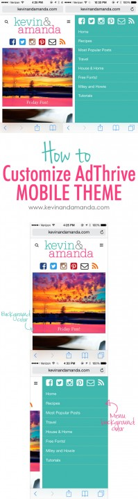 Easy Ways to Customize Your AdThrive Mobile Theme!
