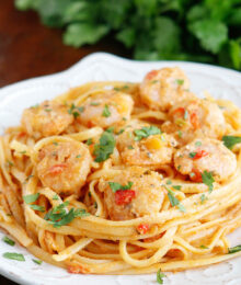 Image of Caribbean Shrimp Pasta