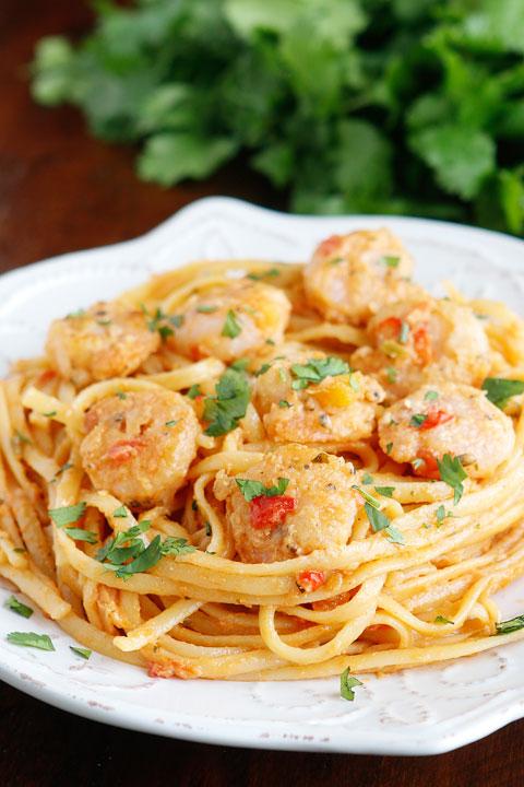 Image of Caribbean Shrimp Pasta