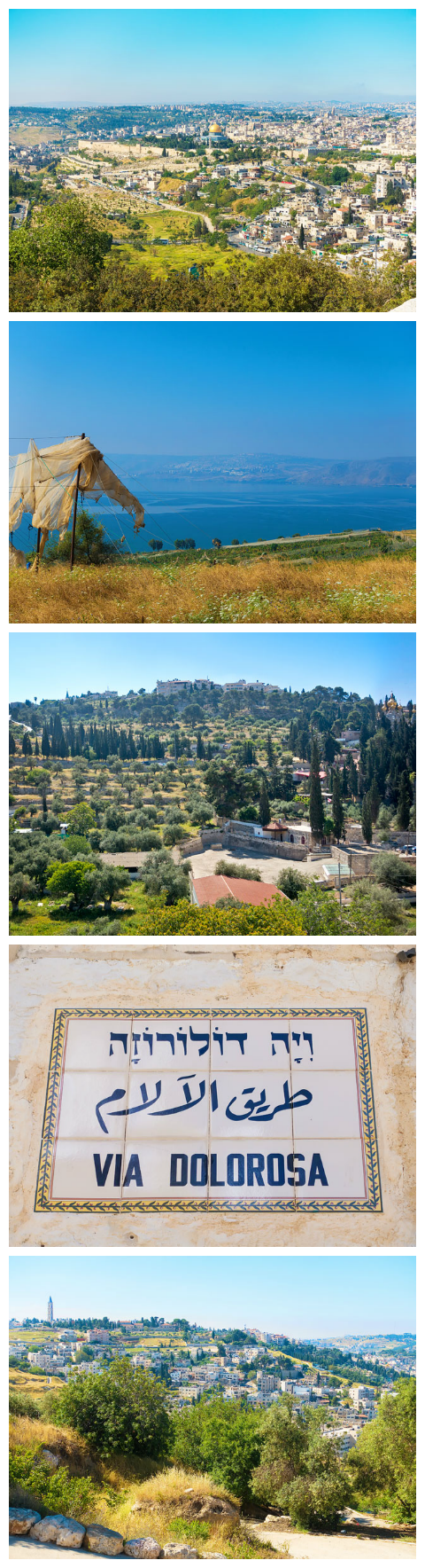 ISRAEL! A list of the MUST-SEE most famous historical sites in Israel, including: Caesarea, where King Herod lived in Biblical times, The Hanging Gardens at Haifa, The Sea of Galilee (where Jesus walked on water) and Masada. The best tips for planning a trip to Israel!