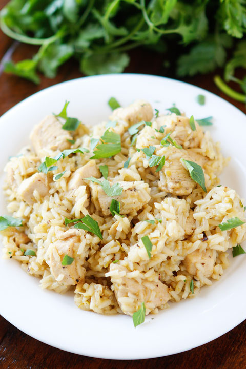 Image of Salsa Verde Chicken and Rice