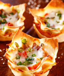 Image of Spicy Italian Ham & Cheese Cups
