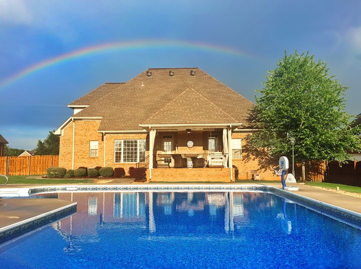 Image of Our Backyard Rainbow