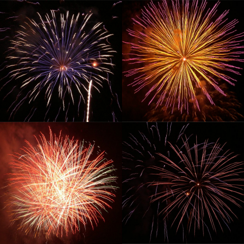 Perfect Settings for Fireworks Photos
