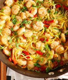 Image of Honey Garlic Shrimp Dinner