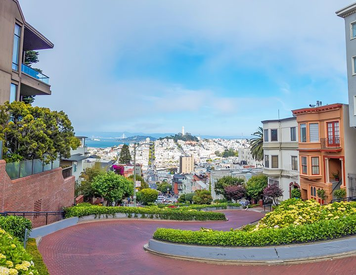 Lombard Street -- Best Things To Do in San Francisco