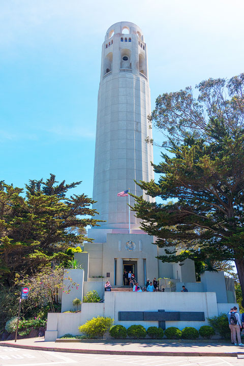 Coit Tower -- Best Things To Do in San Francisco