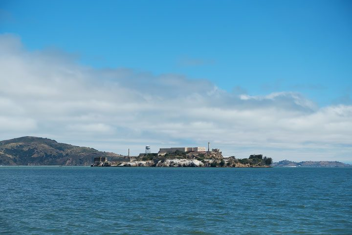 View of Alcatraz Island from San Francisco