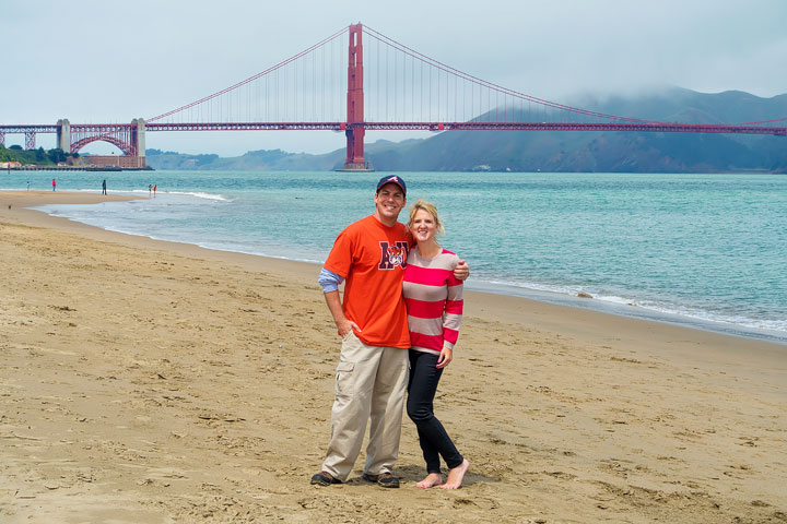 Best View Of Golden Gate Bridge -- Crissy Field