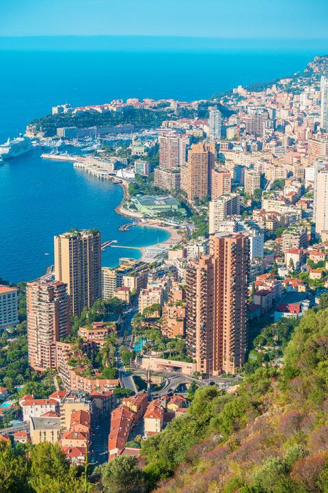 Best Overlook of Monaco