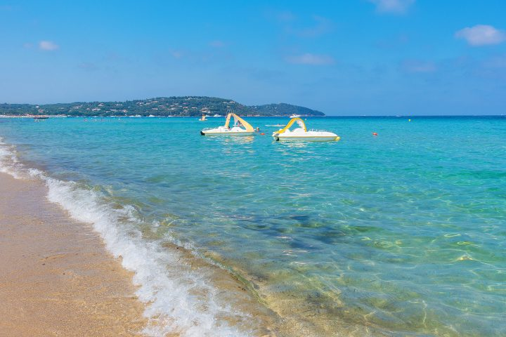 Saint Tropez, French Riviera, France. Where to find the best beaches in Saint Tropez.