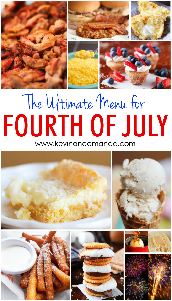 11 Spectacular Recipes for the ULTIMATE Fourth of July Menu!!