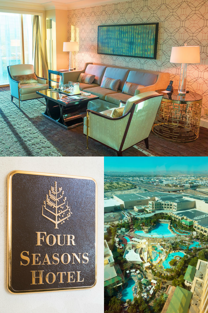 Girls Weekend Getaway in VEGAS at the Four Seasons Hotel!