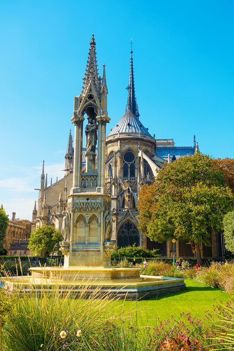Back of Notre Dame Cathedral — BEST Things To Do In Paris