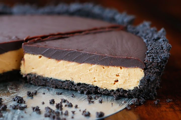 The perfect Peanut Butter Pie recipe with NO cream cheese and NO cool whip!