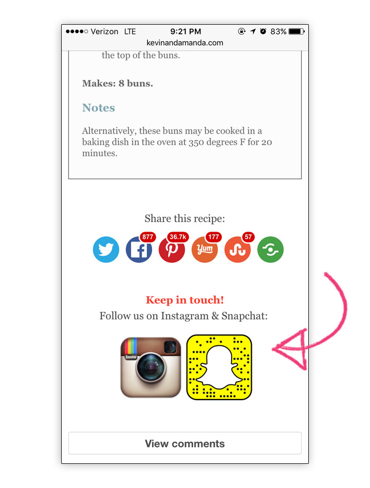 How to post instagram pictures on snapchat